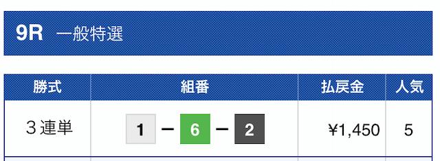2019年10月16日尼崎09R