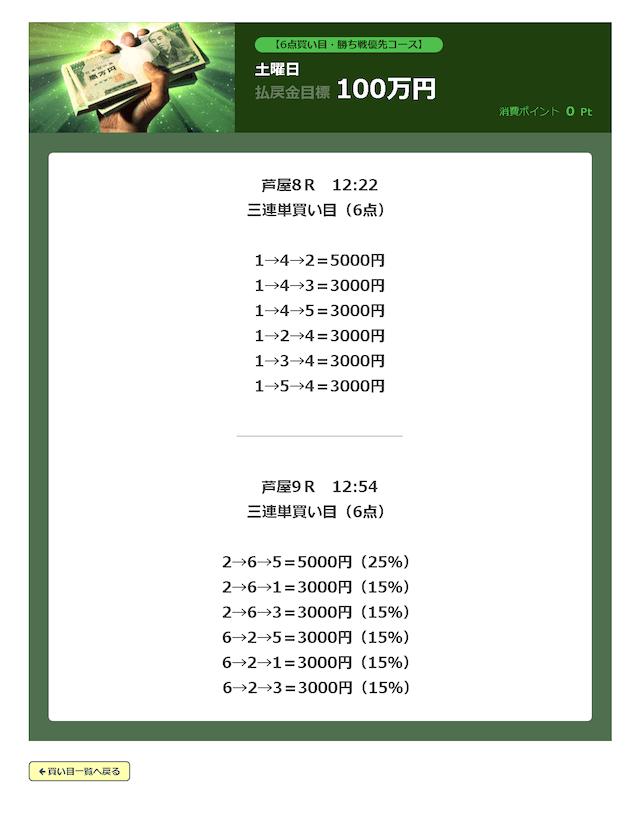 必勝モーターボート有料予想芦屋2019年10月05日