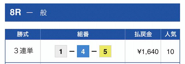 2019年10月05日芦屋08R