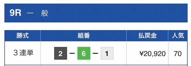 2019年10月05日芦屋09R