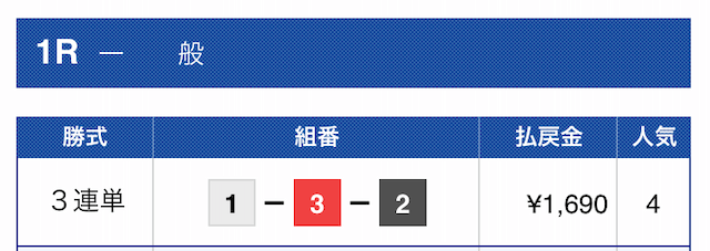 2019年10月11日江戸川01R